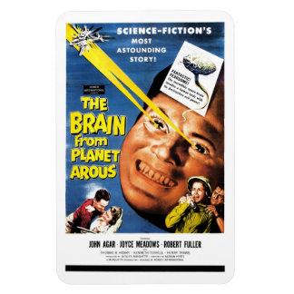 El cerebro del imán de Arous del planeta