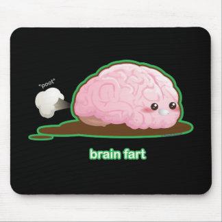 El cerebro Fart Alfombrillas De Raton