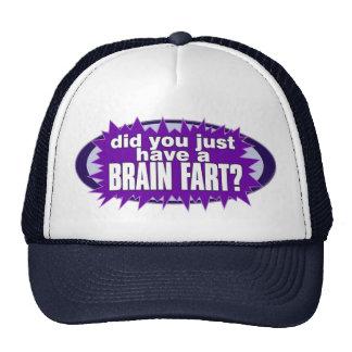 El cerebro Fart gorra