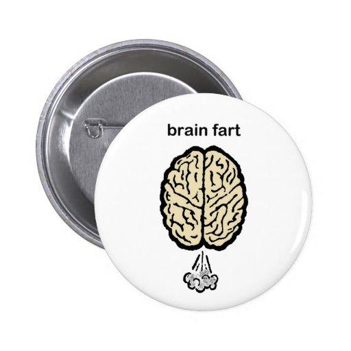 El cerebro Fart Pin Redondo 5 Cm