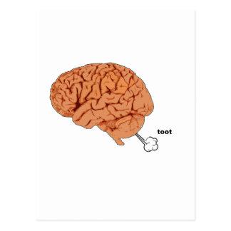 El cerebro fart postales