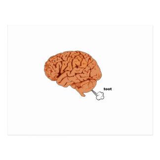 El cerebro fart tarjetas postales