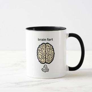 El cerebro Fart Taza