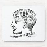 El cerebro Mousepad del actor