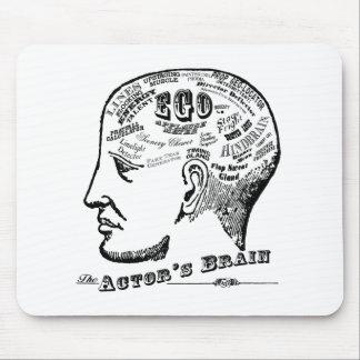 El cerebro Mousepad del actor Tapete De Raton