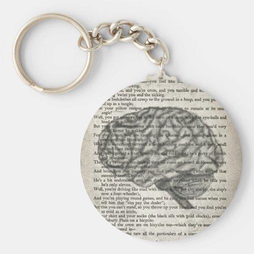 el cerebro poderoso llaveros personalizados