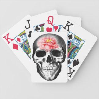 El cerebro subió cráneo en amor droga arte impar e baraja