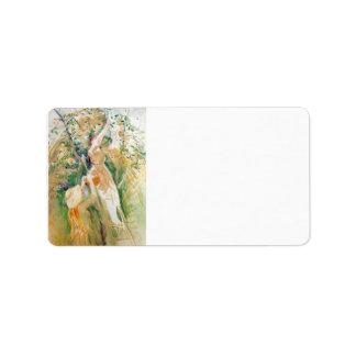 El cerezo, estudio de Berthe Morisot Etiqueta De Dirección