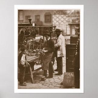 El cerrajero de la calle, a partir de la 'vida en  posters