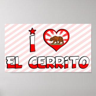 EL Cerrito, CA Poster