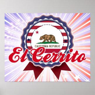 EL Cerrito, CA Posters