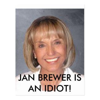 El cervecero de enero es un idiota postal