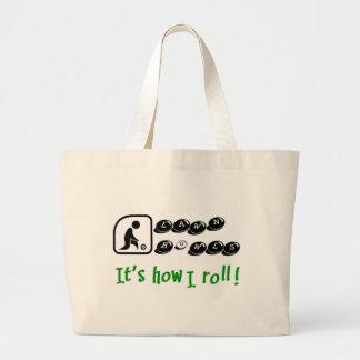 El césped rueda - es cómo ruedo bolsa