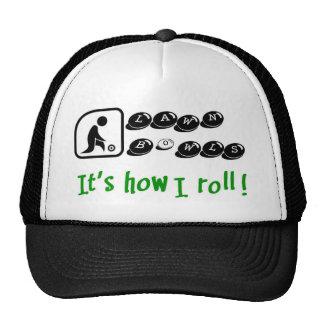 El césped rueda - es cómo ruedo gorro de camionero