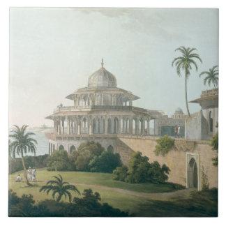 El Chalees Satoon, en el fuerte de Allahabad en el Azulejos Cerámicos