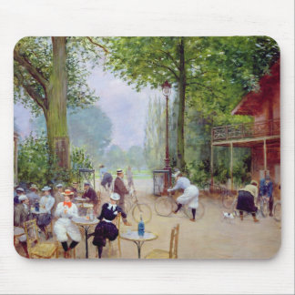 El chalet du Cycle en el Bois de Boulogne Tapete De Ratones