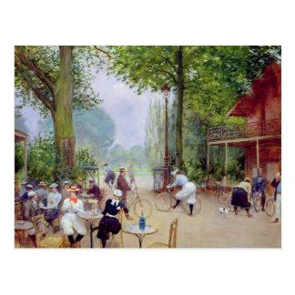 El chalet du Cycle en el Bois de Boulogne Tarjetas Postales