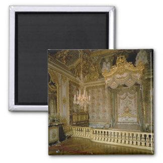 El Chambre de la Reine (el dormitorio) de la reina Imán Cuadrado