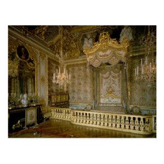 El Chambre de la Reine (el dormitorio) de la reina Postal