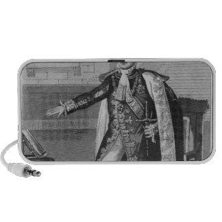 """El """"champ del Mai"""" o emperador Napoleon I iPod Altavoz"""