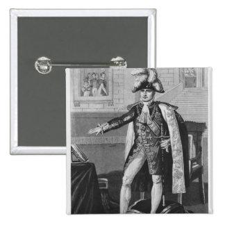 """El """"champ del Mai"""" o emperador Napoleon I Pin Cuadrada 5 Cm"""