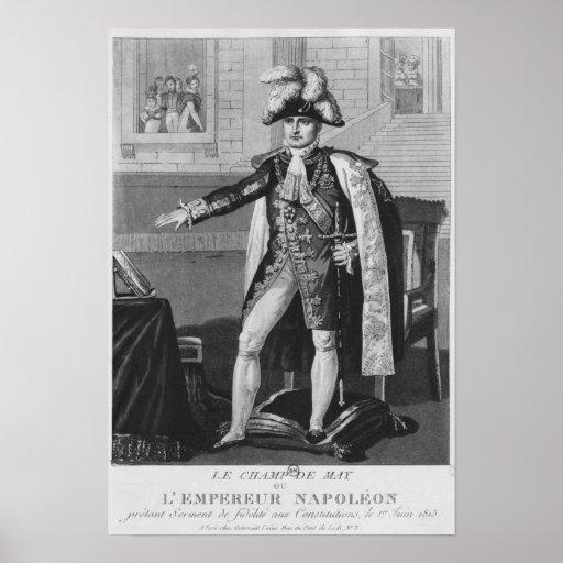 """El """"champ del Mai"""" o emperador Napoleon I Poster"""