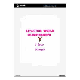 El Champions.png atlético del mundo de Kenia iPad 2 Skin