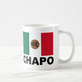 El Chapo Mexican flag Coffee Mug