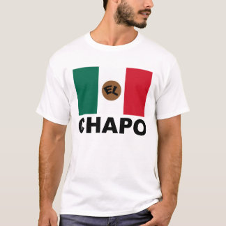 El Chapo Mexican flag T-Shirt