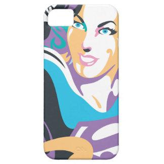 El chapoteo del color de Supergirl remolina 1 iPhone 5 Case-Mate Coberturas