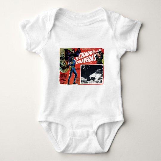El Charro De Las Calaveras Baby Bodysuit