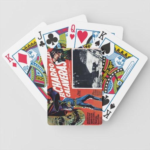 El Charro De Las Calaveras Baraja Cartas De Poker