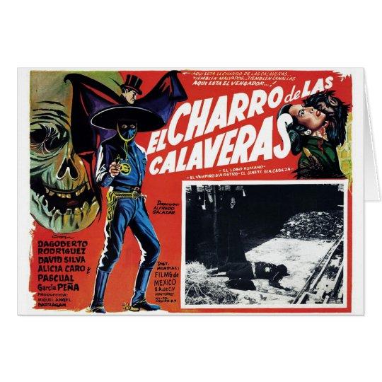 El Charro De Las Calaveras Card