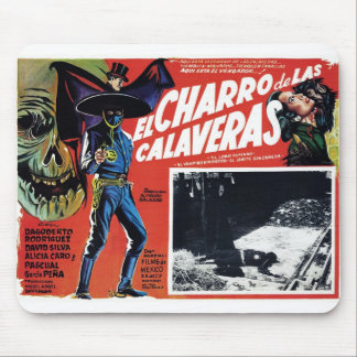 El Charro De Las Calaveras Mouse Pad