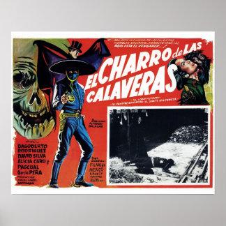 El Charro De Las Calaveras Poster