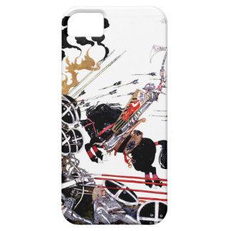 El chaval en caso del iphone 5 de la batalla funda para iPhone 5 barely there