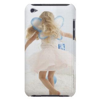 El chica (4-5) con la hada se va volando el baile iPod touch fundas