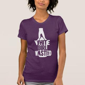 El chica blanco perdió los hilos frescos del | camisetas
