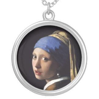 El chica con un pendiente de la perla de Juan Verm