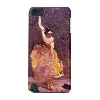 El chica de baile por Toulouse-Lautrec