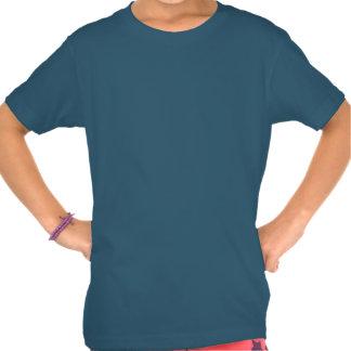 El chica de la abuela (corazones) camiseta