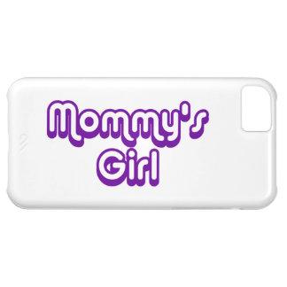 El chica de la mamá funda para iPhone 5C