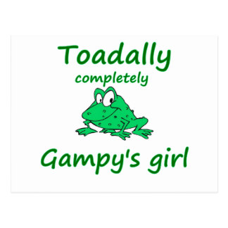 el chica de los gampy tarjeta postal