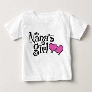 El chica de Nana Playera Para Bebé