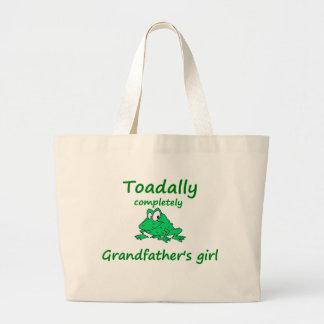 el chica del abuelo bolsas