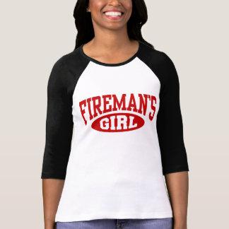 El chica del bombero playeras