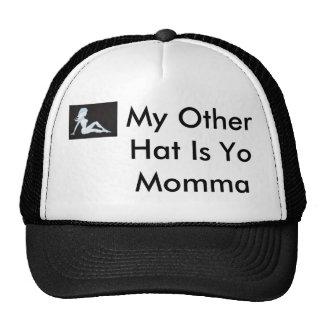 el chica del camionero, mi otro gorra es Yo Momma