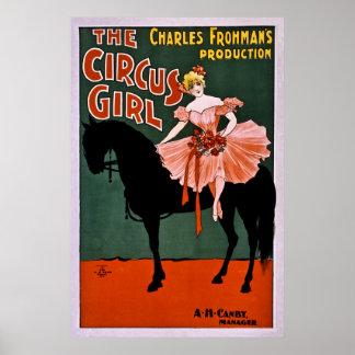 El chica del circo poster
