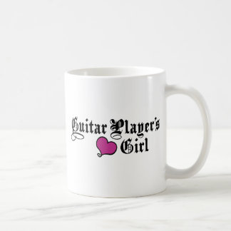 El chica del guitarrista taza clásica