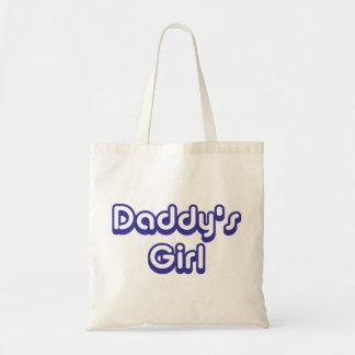 El chica del papá bolsa tela barata